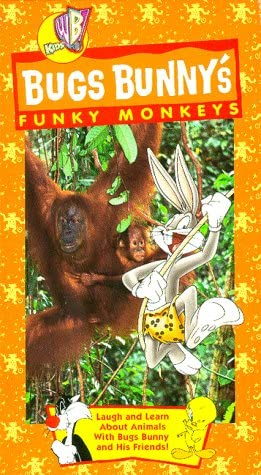 Bugs Bunny: Funky Monkeys (1998 VHS)