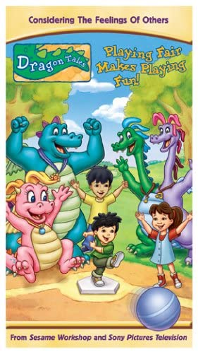 Dragon Tales: Playing Fair Makes Playing Fun! (2005 VHS)