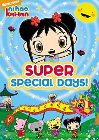 Ni Hao, Kai-Lan: Super Special Days (2008 DVD)
