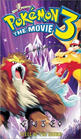 Pokémon 3: The Movie (2001 VHS)