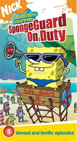 SpongeBob SquarePants: SpongeGuard on Duty (2004 VHS)