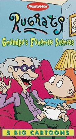 Rugrats: Grandpa's Favorite Stories (1997 VHS)
