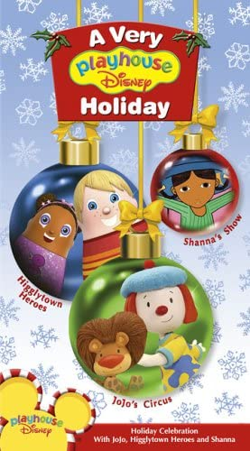 A Very Playhouse Disney Holiday (2005 VHS)