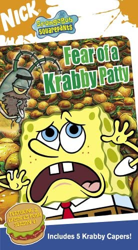 SpongeBob SquarePants: Fear of a Krabby Patty (2005 VHS)