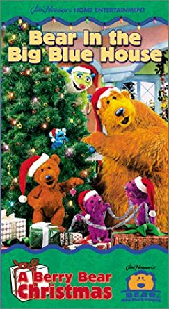 Bear in the Big Blue House: A Berry Bear Christmas (2000 VHS)