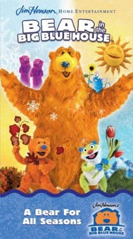Bear in the Big Blue House: A Bear for All Seasons (2003 VHS)