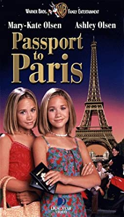 Passport to Paris (1999 VHS)