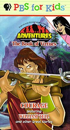 Adventures from the Book of Virtues: Courage (1997 VHS)