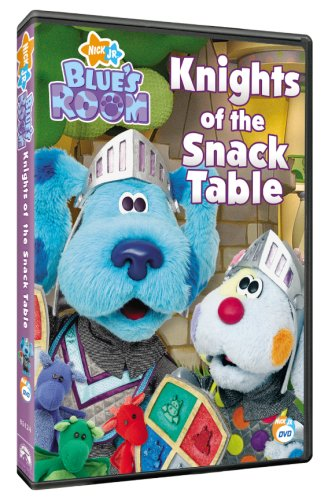 Blue's Room: Knights of the Snack Table (2007 DVD)
