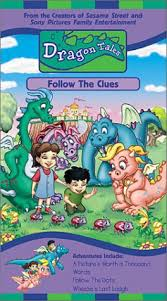 Dragon Tales: Follow the Clues (2000 VHS)