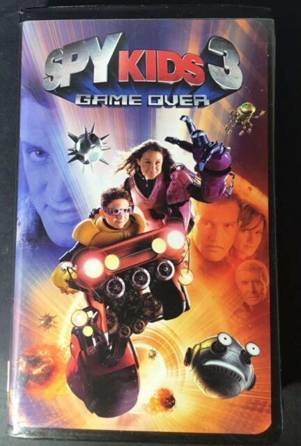 Spy Kids 3 Game Over (2004 VHS)