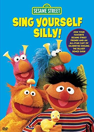 Sesame Street: Sing Yourself Silly! (1996 VHS)