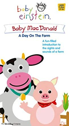 Baby Einstein: Baby MacDonald A Day On The Farm (2004 VHS)