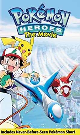 Pokémon Heroes The Movie (2004 VHS)