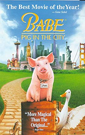 Babe: Pig In The City (1999-2003 VHS)
