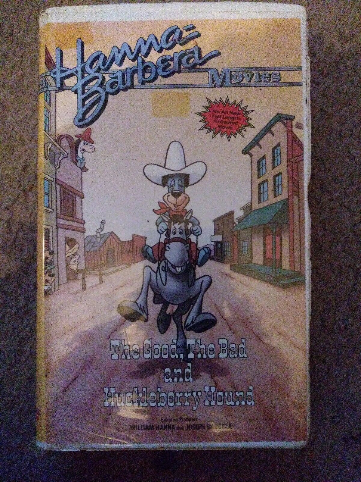The Good, the Bad, and Huckleberry Hound (1988 VHS)