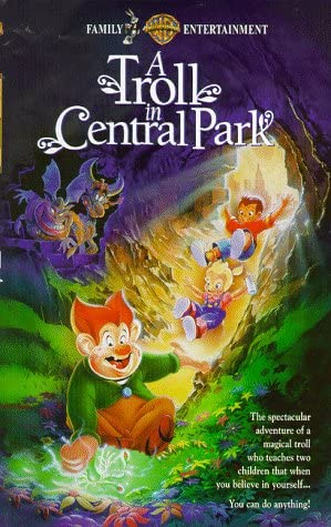 A Troll in Central Park (1995 VHS)
