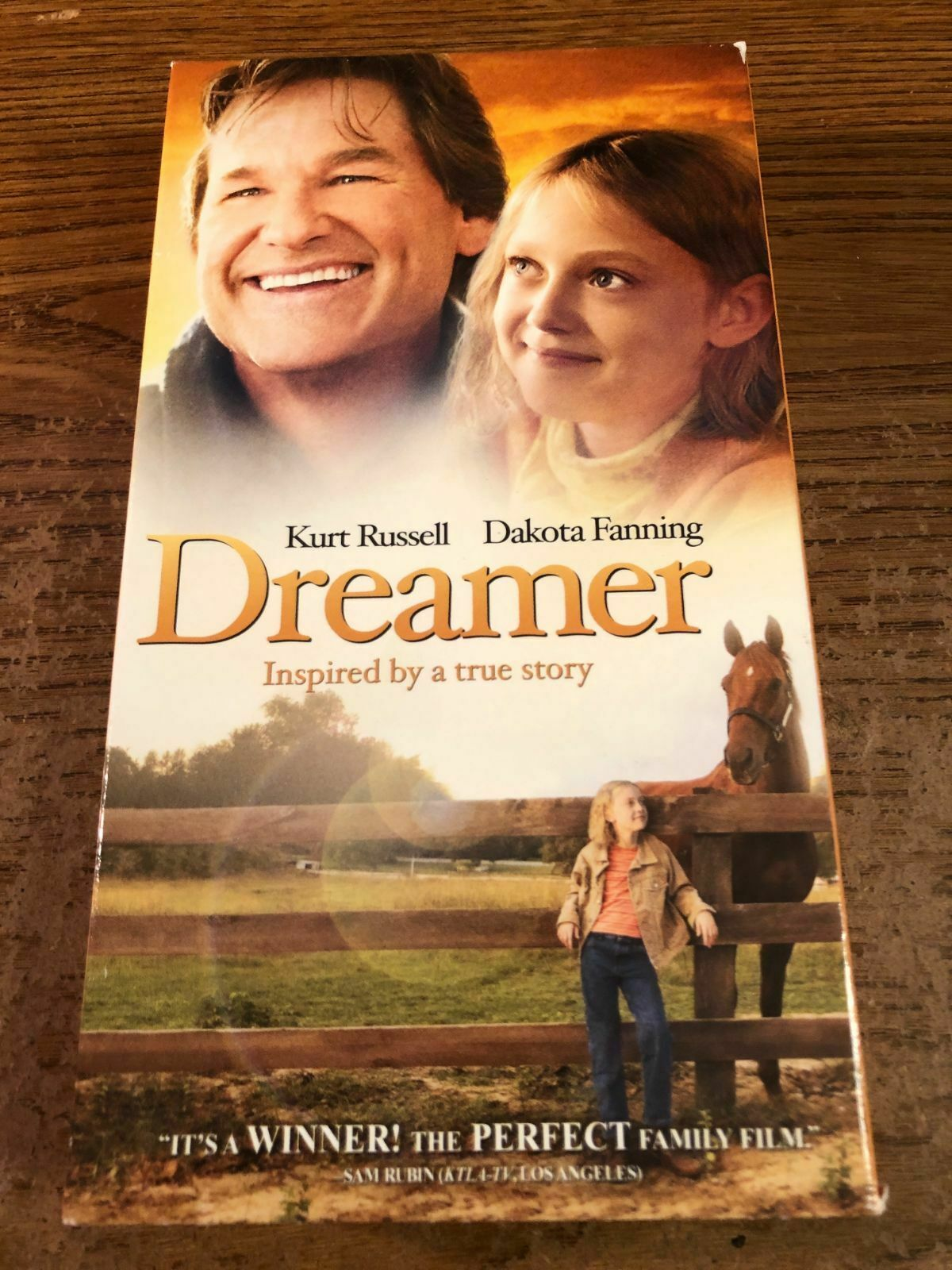Dreamer: Inspired By A True Story (2006 VHS)