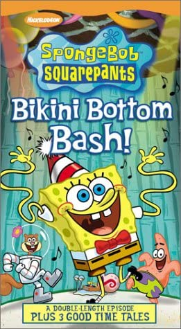 SpongeBob SquarePants: Bikini Bottom Bash (2003 VHS)