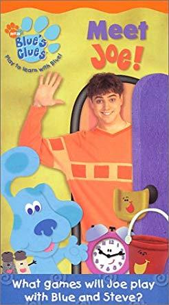 Blue's Clues: Meet Joe! (2002 VHS)