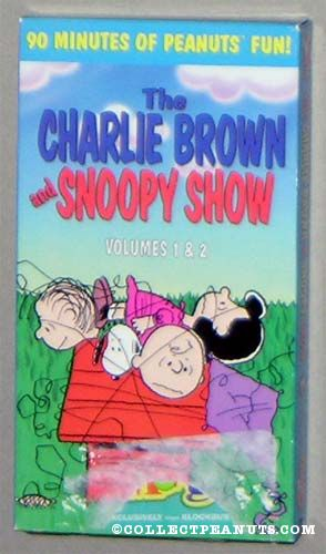 The Charlie Brown and Snoopy Show: Volumes 1 & 2 (1997 VHS)