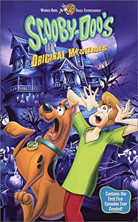 Scooby-Doo's Original Mysteries (2002 VHS)