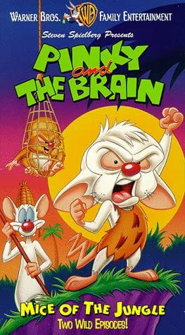 Pinky and the Brain: Mice of the Jungle (1997 VHS)