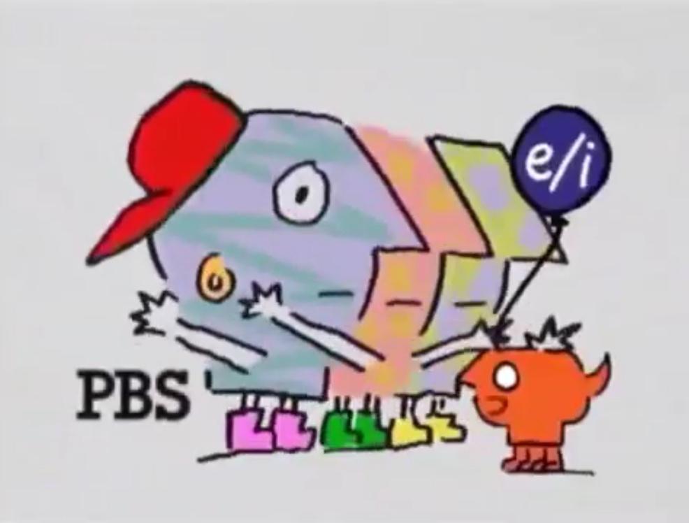 PBS Kids P Pals Logo (1996)