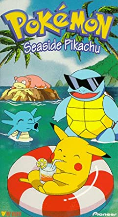 Pokemon Seaside Pikachu (1999 VHS)