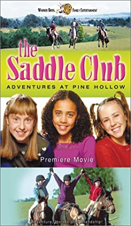 The Saddle Club Adventures at Pine Hollow (2002 VHS)