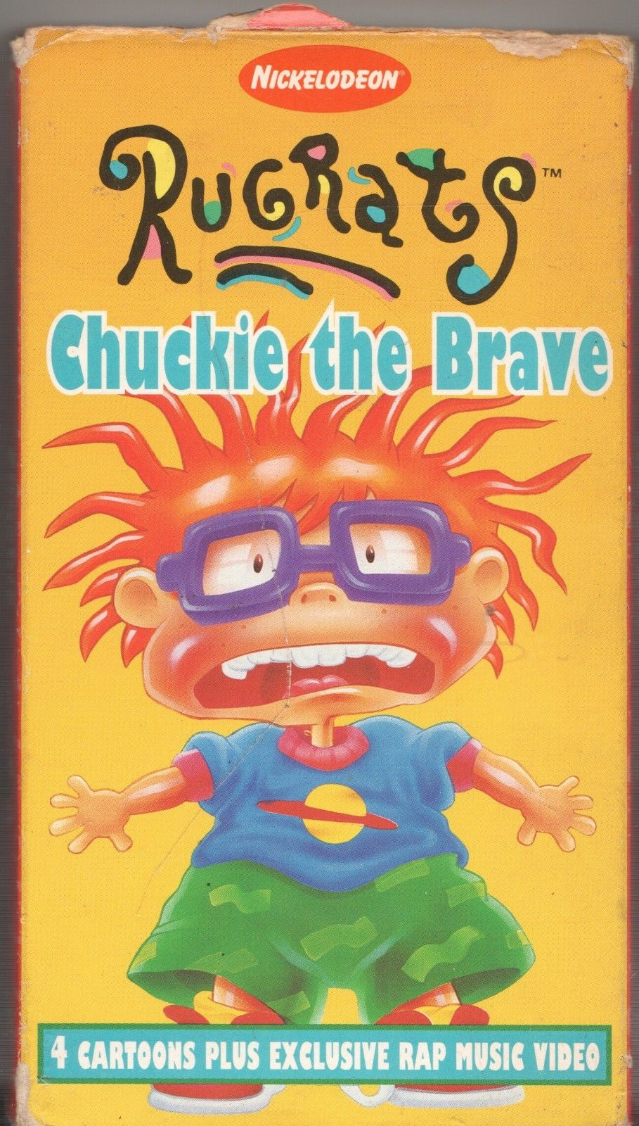 Rugrats: Chuckie the Brave (1996 VHS)