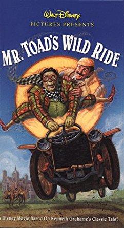 Mr. Toad's Wild Ride (VHS/DVD)