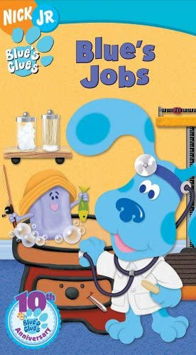 Blue's Clues: Blue's Jobs (2006 VHS)