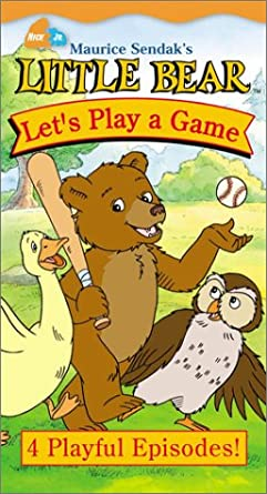 Little Bear: Let's Play a Game (2001 VHS)