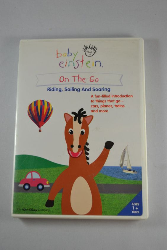 Baby Einstein: On The Go Riding, Sailing and Soaring (2005 DVD)