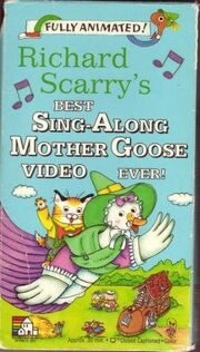 Richard Scarry's Best Sing-Along Mother Goose Video Ever! (1994 VHS)