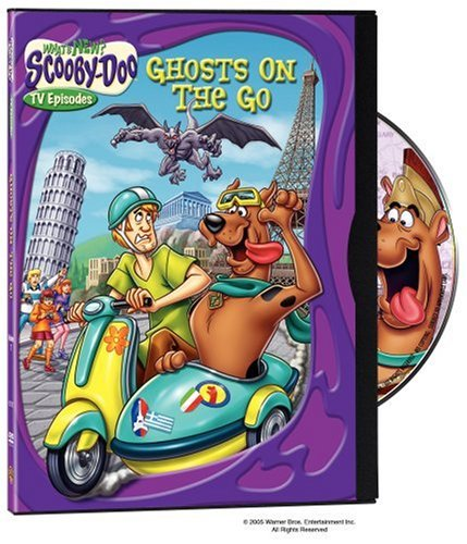 What's New Scooby-Doo?: Volume 7 Ghosts on the Go (2005 DVD)