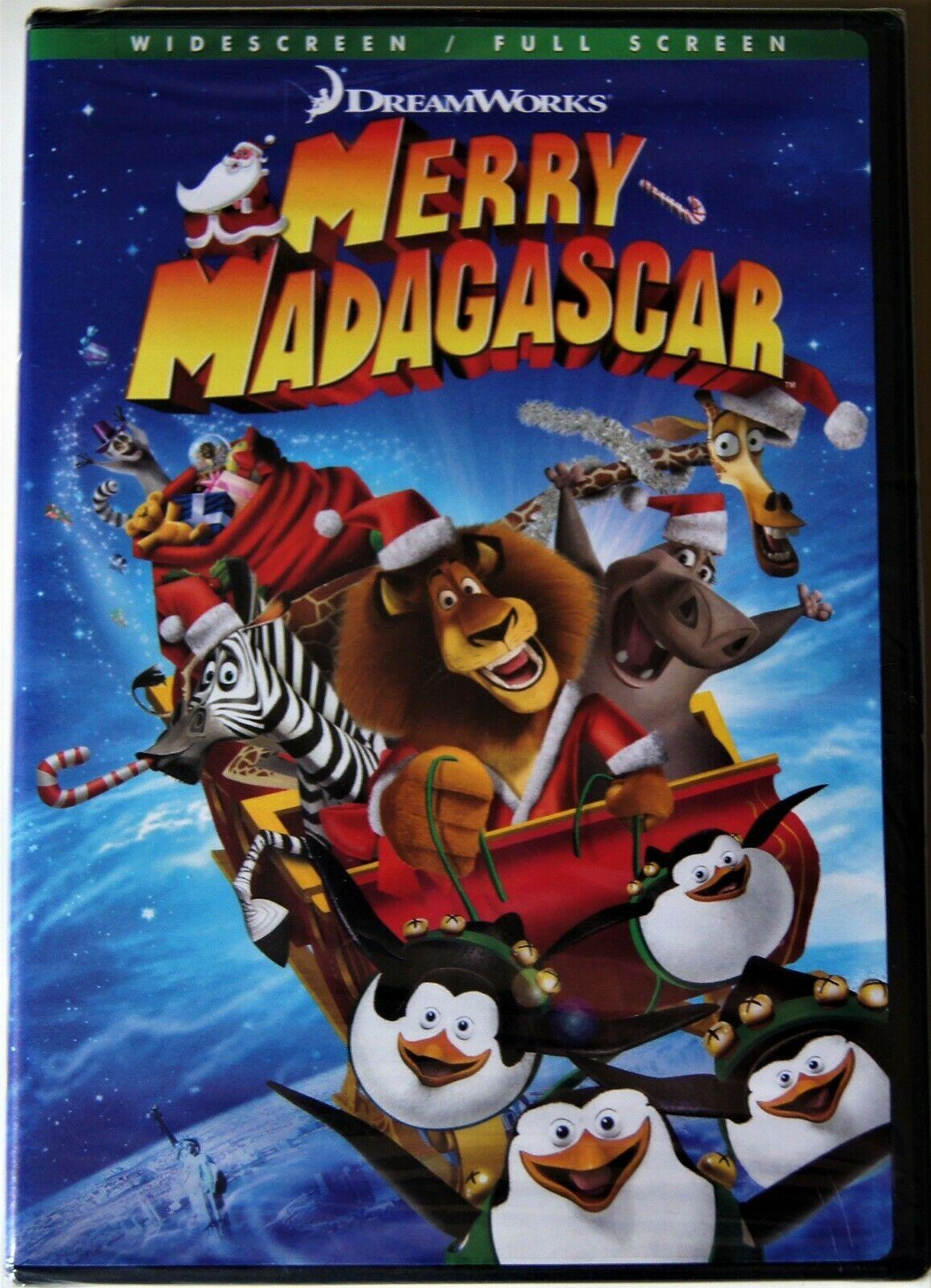 Merry Madagascar (2009 DVD)