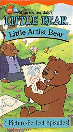 Little Bear: Little Artist Bear (2002 VHS)