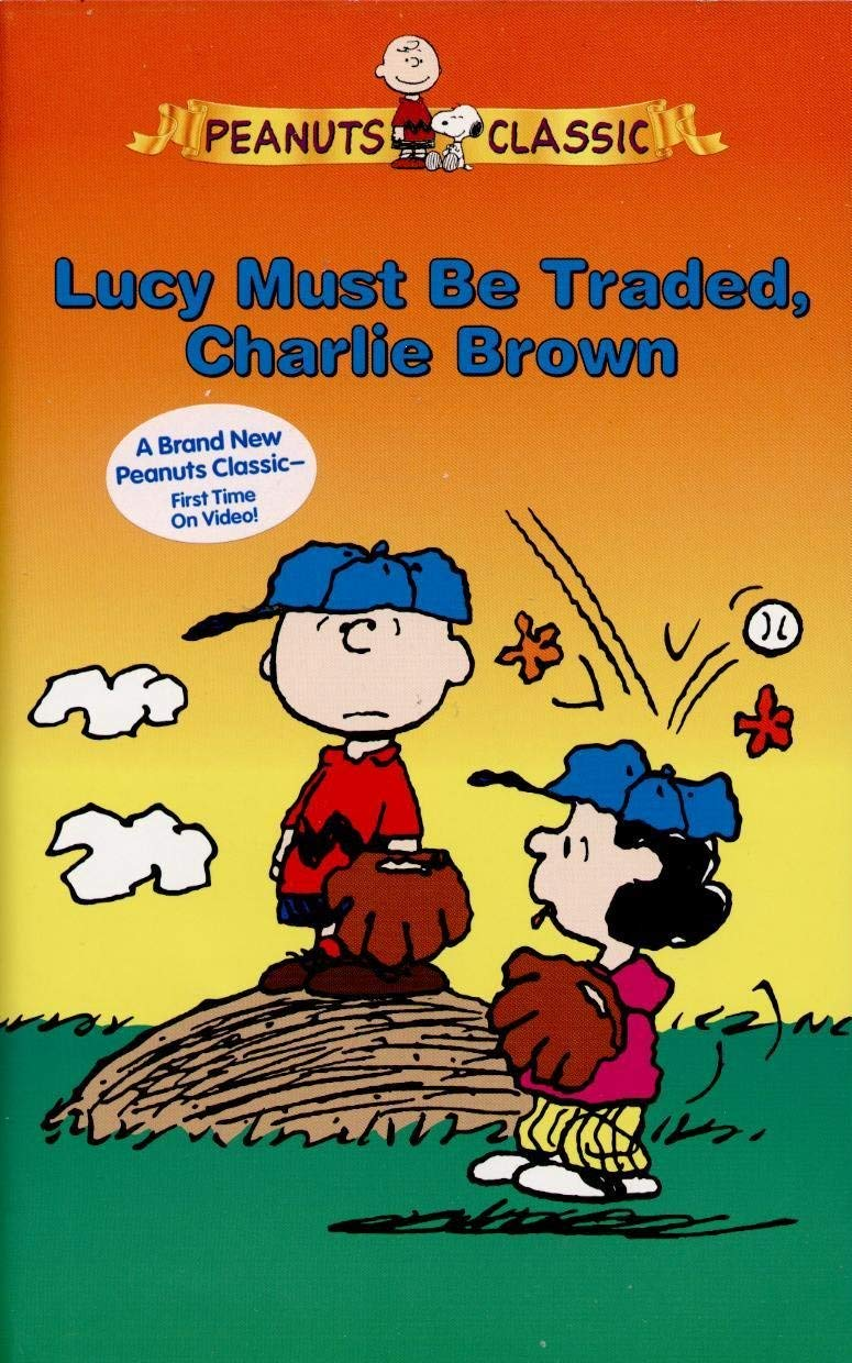Peanuts: Lucy Must Be Traded Charlie Brown (2004 VHS)