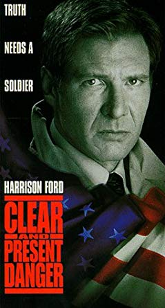 Clear and Present Danger (1995 VHS)
