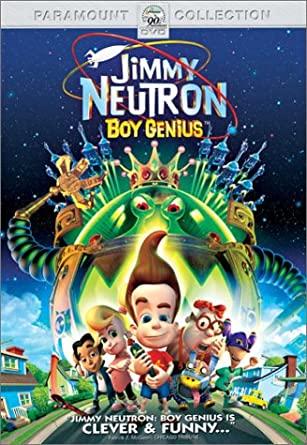 Jimmy Neutron: Boy Genius (2002 DVD)