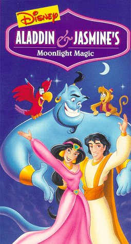 Aladdin & Jasmine's Moonlight Magic (1996 VHS)