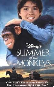 Summer of the Monkeys (1998 VHS)
