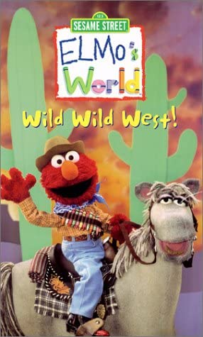 Elmo's World: Wild Wild West (2001 VHS)
