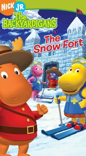 The Backyardigans: The Snow Fort (2005 VHS)