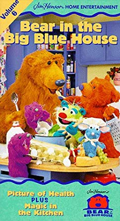 Bear in the Big Blue House: Volume 6 (1999-2000 VHS)