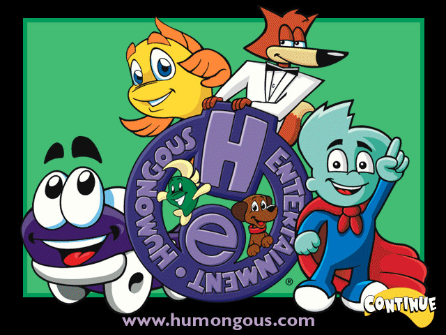 Humongous Entertainment Product Catalog (Spring/Summer 2001)