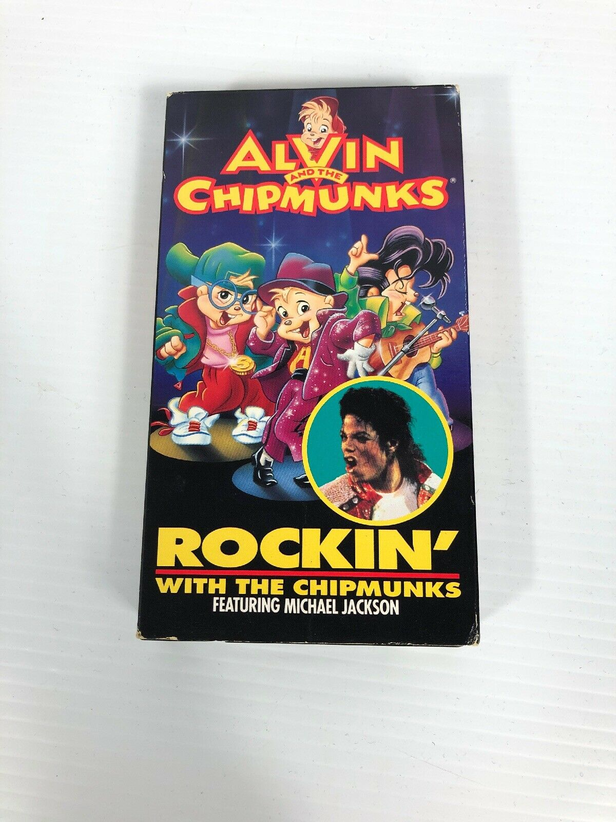 Alvin and the Chipmunks: Rockin' with the Chipmunks (1992 VHS)