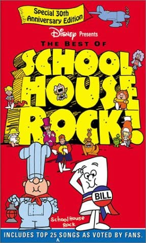 The Best of Schoolhouse Rock (2002 VHS)